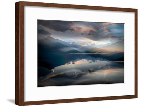Slocan Lake At Sunset 6-Ursula Abresch-Framed Art Print
