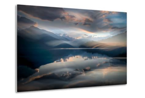 Slocan Lake At Sunset 6-Ursula Abresch-Metal Print