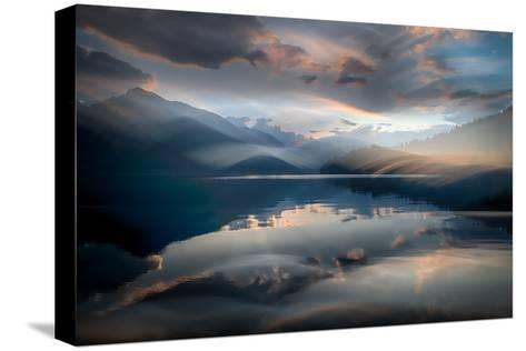 Slocan Lake At Sunset 6-Ursula Abresch-Stretched Canvas Print