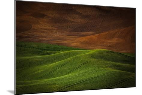 Landwriting 1-Ursula Abresch-Mounted Photographic Print