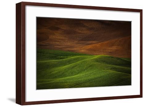 Landwriting 1-Ursula Abresch-Framed Art Print