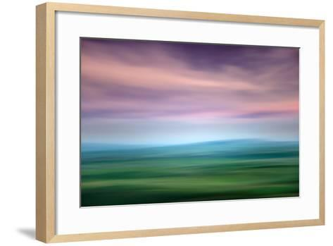 Hazy Palouse Evening-Ursula Abresch-Framed Art Print