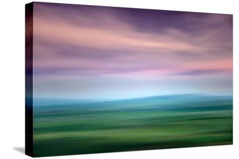 Hazy Palouse Evening-Ursula Abresch-Stretched Canvas Print