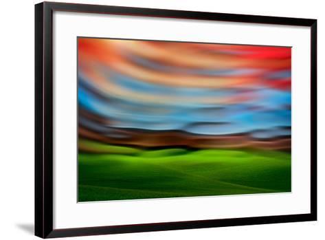 Palouse Abstract 3-Ursula Abresch-Framed Art Print