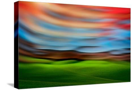 Palouse Abstract 3-Ursula Abresch-Stretched Canvas Print