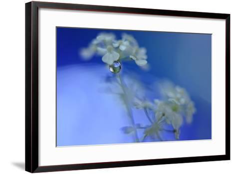 Feeling the Blue Waves-Heidi Westum-Framed Art Print