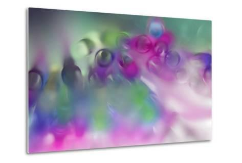 Pastel Abstract 2-Heidi Westum-Metal Print