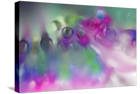 Pastel Abstract 2-Heidi Westum-Stretched Canvas Print