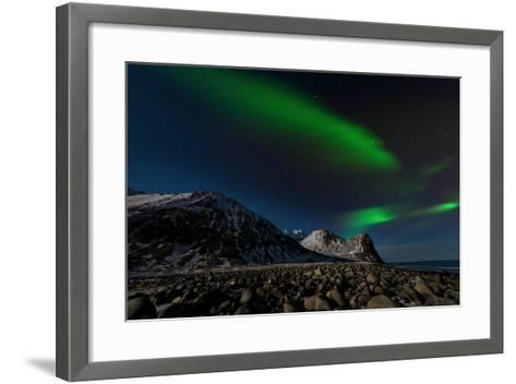 Aurora Borealis in Norway 3-Philippe Sainte-Laudy-Framed Art Print