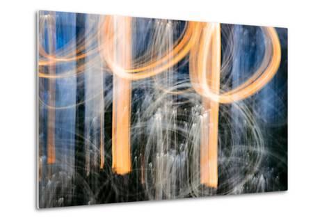 Sunset Trees-Ursula Abresch-Metal Print