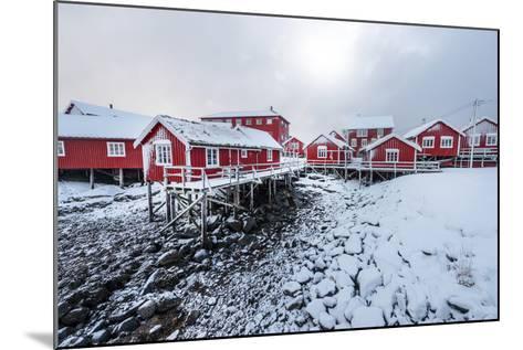 Reine the Village-Philippe Sainte-Laudy-Mounted Photographic Print