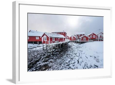 Reine the Village-Philippe Sainte-Laudy-Framed Art Print
