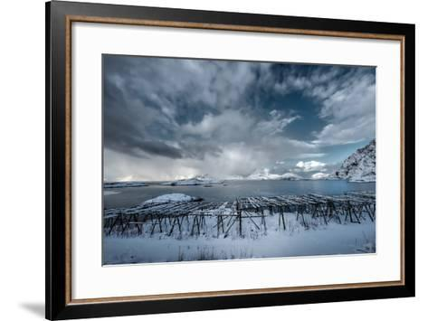 Cloudy Day in Norway-Philippe Sainte-Laudy-Framed Art Print