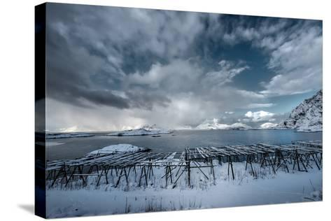 Cloudy Day in Norway-Philippe Sainte-Laudy-Stretched Canvas Print