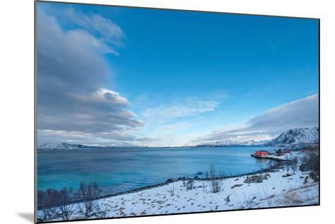 Blue Silence-Philippe Sainte-Laudy-Mounted Photographic Print