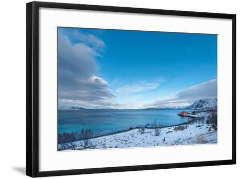 Blue Silence-Philippe Sainte-Laudy-Framed Art Print