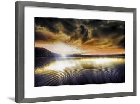 Divine Light-Viviane Fedieu Daniel-Framed Art Print