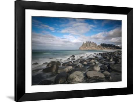 Sea and Stones-Marco Carmassi-Framed Art Print