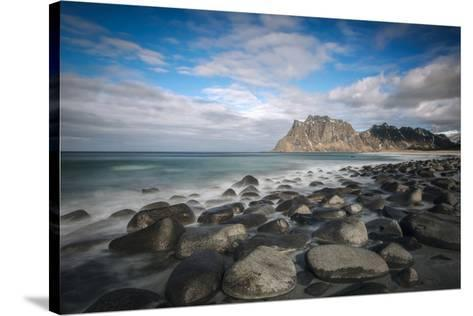 Sea and Stones-Marco Carmassi-Stretched Canvas Print