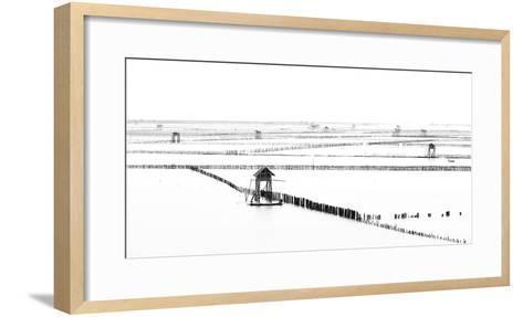 Shellfish Farm- Vichaya-Framed Art Print