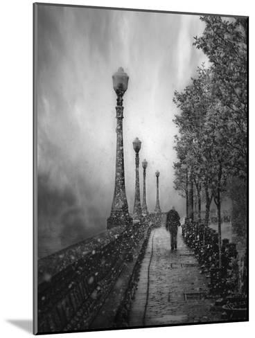 Spring Snow-David Senechal Photographie-Mounted Photographic Print