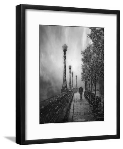 Spring Snow-David Senechal Photographie-Framed Art Print