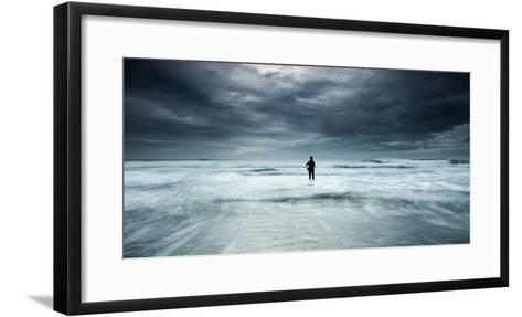 Fishing a Dream-Paulo Dias-Framed Art Print