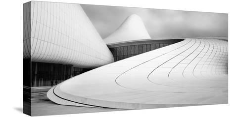 Heydar Aliyev Centre-Richard Krchnak-Stretched Canvas Print