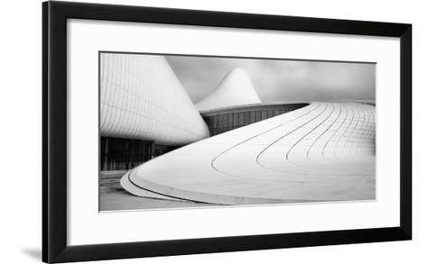 Heydar Aliyev Centre-Richard Krchnak-Framed Art Print