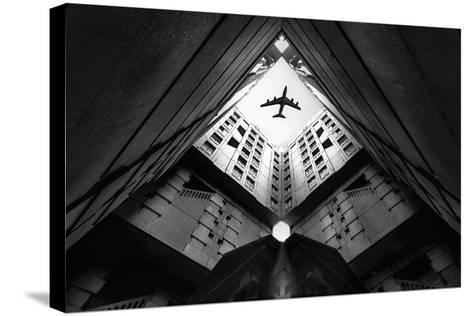 Plane City-Correy Christophe-Stretched Canvas Print