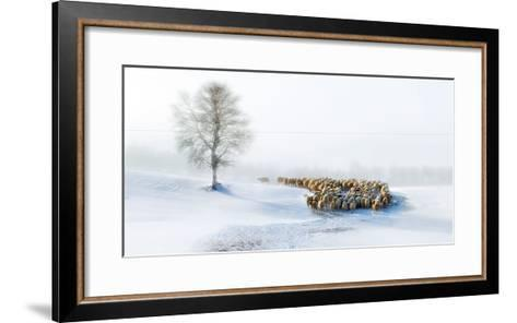 In Snow-Hua Zhu-Framed Art Print