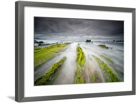 Barrika-Carlos J Teruel-Framed Art Print