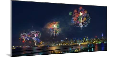 Celebration of Independence Day in Nyc-Hua Zhu-Mounted Photographic Print