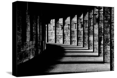 Berliner Olympic Stadion-Susanne Stoop-Stretched Canvas Print