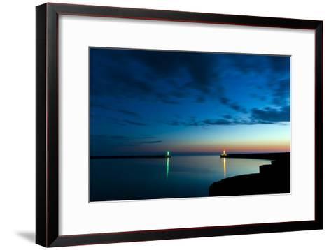 Midnight Blue-Niels Christian Wulff-Framed Art Print