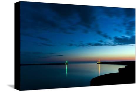 Midnight Blue-Niels Christian Wulff-Stretched Canvas Print