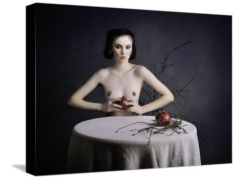 Forbiden Fruit-Alexandra Fira-Stretched Canvas Print