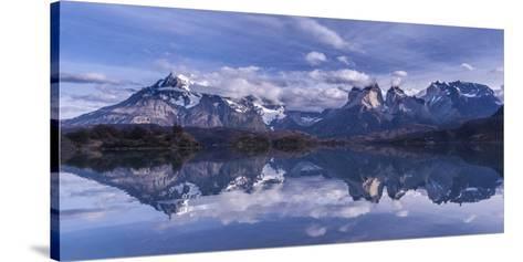 Torres Del Paine-Vladimir Driga-Stretched Canvas Print