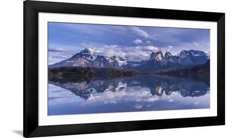 Torres Del Paine-Vladimir Driga-Framed Art Print