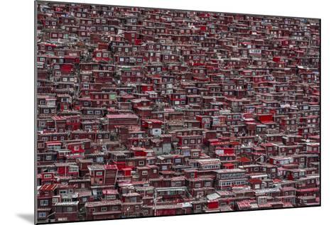 Red Houses-Ali Al-Jazeri-Mounted Photographic Print