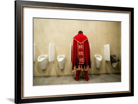 It's Good to Be King!- Nikolaitsch-Framed Art Print