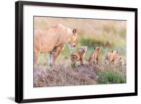 Let's Go Mom-Ted Taylor-Framed Art Print