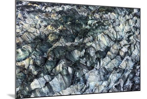 Ice Texture in Hopper Glacier- Kowit.Lee-Mounted Photographic Print