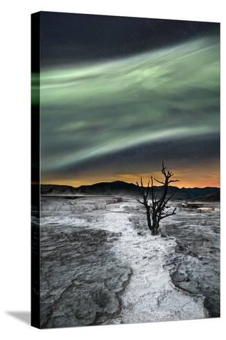 Magic Aurora-Liloni Luca-Stretched Canvas Print
