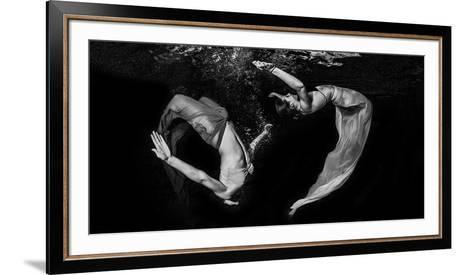 Grace Underwater-Ken Kiefer-Framed Art Print
