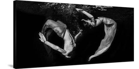 Grace Underwater-Ken Kiefer-Stretched Canvas Print