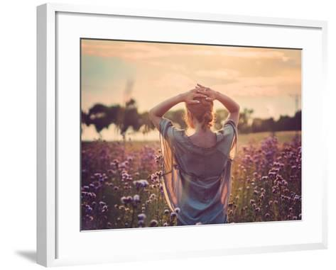Sunset-Magdalena Wolk-Framed Art Print