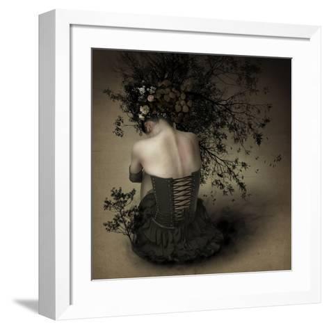 Night Scented Girl-Kiyo Murakami-Framed Art Print