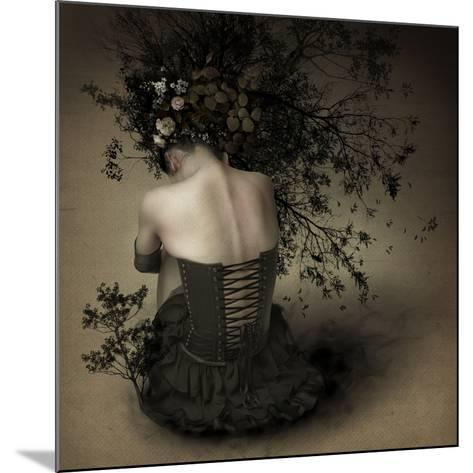 Night Scented Girl-Kiyo Murakami-Mounted Photographic Print