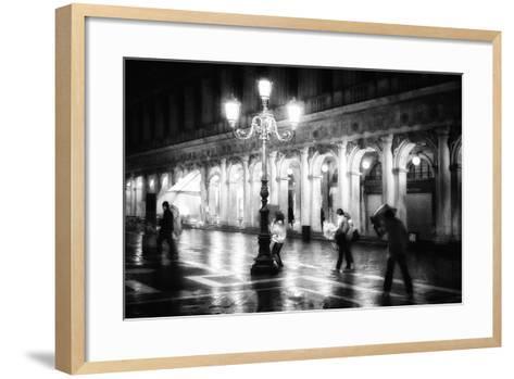 Apart From Storm and Rain ...-Roswitha Schleicher-Schwarz-Framed Art Print